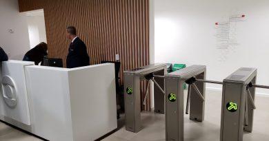 Wolpac instala controles de acesso no MG4, novos estúdios da Globo